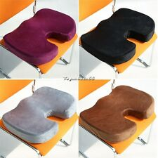 Back Wheelchair Support Pad Home Office Memory Foam Seat Cushion Chair Pillow