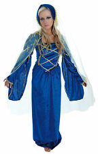Halloween Zombie Women Medieval lady Tudor period Hen Night Fancy Dress Costume