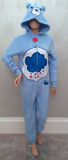 Adult WOMENS PRIMARK All in One Onesie Pyjama CARE BEARS GRUMPY BEAR Costume