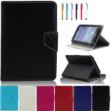 """New Universal Leather Case Cover Fit For 7"""" 8"""" 9"""" 10"""" 10.1"""" inch Tablets PC PDA"""