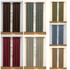 Eclipse Samara Blackout Energy-Efficient Curtains - Assorted Sizes and Colors