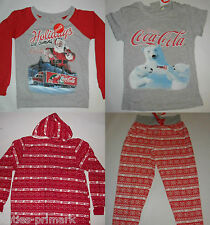 PRIMARK LADIES COCA COLA COKE  PYJAMAS T SHIRT LOUNGE PANTS OR ALL IN ONE 6 - 20