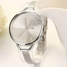 Womens Fashion Bracelet Wrist Watch Ladies Designer Style Gold Silver Gift Girl
