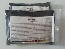 KERATIN HAIR BUILDING FIBER REFILL FINALLY HAIR 25G 2 PAK (50G TOTAL) HAIR LOSS