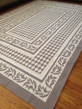 100% Organic Cotton Area Rug and Runner Washable Rugs with Modern Design