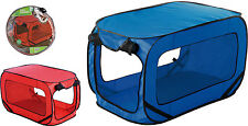 Grande PORTATILE LEGGERA POP UP CANE PET Kennel Casa Viaggio GABBIA PUPPY CAT PE