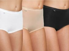 Sloggi Basic Womens Ladies Cotton Maxi Briefs Pants Knickers 4 for 3 Multi Pack