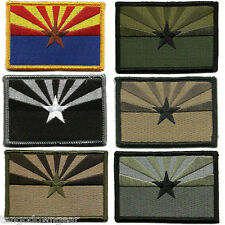 """2""""x3"""" Arizona State Tactical Shoulder or Hat Patch Velcro Military, New"""