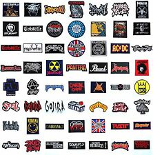#5 NEW HEAVY METAL PUNK HARDCORE MUSIC PATCHES LOGO ROCK BAND SEW OR IRON ON /FS