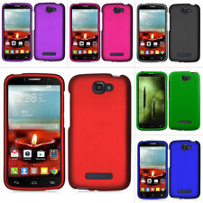 For Alcatel One Touch Fierce 2 7040T Color Rubberized Hard Case Snap On Cover