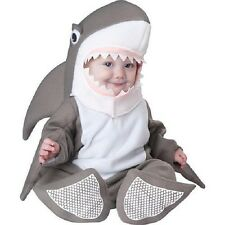 Shark Bite Size Infant Baby Gray Halloween Costume SET~ INCHARACTER~6 mo-2T~NWT