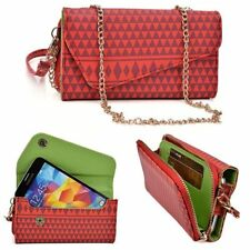 Kroo Clutch Wallet with Shoulder Strap for LG G2
