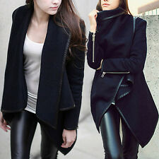 New Women Slim Warm Long Jacket Coats Trench Parka Outwear Overcoat