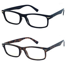 Retro Frame Man Woman Small Wayfarer Reading Glasses 2 Color [+100 To +400] RG29