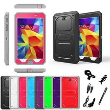 "For Samsung Galaxy Tab 4 8.0"" Full Protective Cover Impact Resistant Bumper Case"