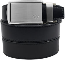 SlideBelts Factory Seconds Winged Silver Buckle Ratchet Belt