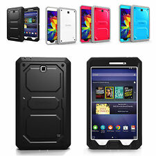 Full Protective Rugged Hybrid Cover Case for Samsung Galaxy Tab 4 7.0 Tab 4 8.0