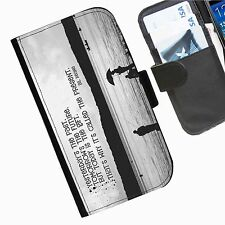 Words Personalised leather phone case skins for Nokia Lumia Phone
