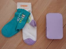 GIRLS GYMBOREE SOCKS, TIGHTS PAINTING PALS SZ 12-24 MONTHS, 2T-3T, 4-5 YEARS
