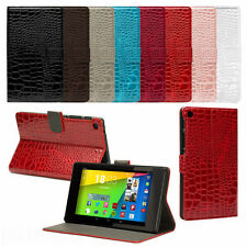 Glossy Leather Crocodile Pattern Case Cover Wallet for New Asus Google Nexus 7 2