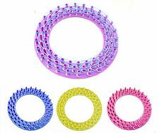 HOCA New Round Loom Board For Colourful Rainbow Rubber Bands Kit Refill Making