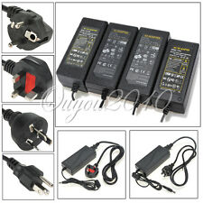AC100-240V A DC 12V Adapter Corriente 2A~10A Power Supply Charger Led Tira Luz