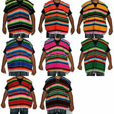 6 - 12 yrs Youth Mexican Poncho Sarape Costume Mexican Fiesta Cinco de Mayo
