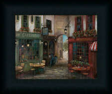 Courtyard Ambiance by Ruane Tuscan Villa Framed Art Print Wall Décor Picture
