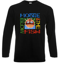 """Hootie and The Blowfish """"Cracked Rear View"""" Long Sleeve Black T-Shirt Size S-3XL"""