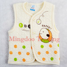 New Baby clothes NEWBORN Infant Cute Velveteen Sleeveless Jacket Vest 3-6Months
