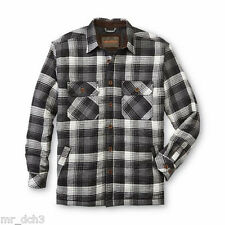 Northwest Territory  Men's Big & Tall Quilted Flannel Shirt Jacket - Pla