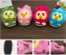 Winter Shoes Home Slippers Winter Indoor Slippers Women's Cute Owl  Slippers
