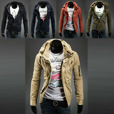 DISCOUNT SALE  Men XMAS Winter Military Jackets Trench Coats College Boy Outwear