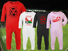 AFC BOURNEMOUTH Football Baby Romper Suit Sleep Personalised Cute Gift- Any team