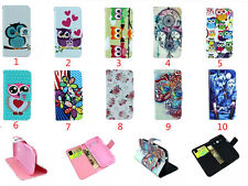 Flower Magnetic wallet PU Leather cover case for Samsung Galaxy Core Plus G3500