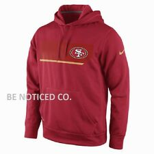 NWT Nike NFL San Francisco 49ers Men's Therma-Fit Hoodie Red S M L XL