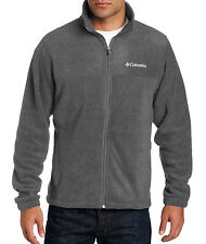 NWT Columbia Men's Granite Mountain Fleece Jacket Gray