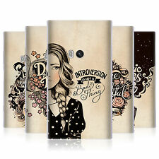 HEAD CASE INTROSPECTION GEL BACK CASE COVER FOR NOKIA LUMIA 920