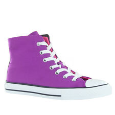 Converse CT All Star Two Fold Hi Purple Youth Trainers