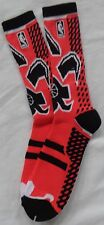 Mens NBA 2014 All Star Red/Black Crew Socks New