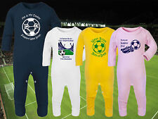 WEST BROMWICH/BROM ALBION Football Baby Romper Suit Sleep Personalised Cute Gift