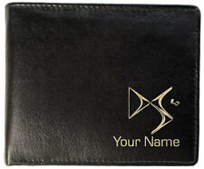 Mens Personalised Leather Wallet - Citroen DS4 - 3 Styles