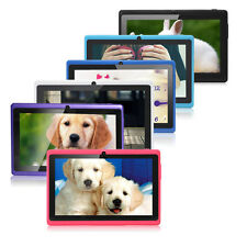"""Quad Core 8GB 7"""" Tablet PC A33 Google Android 4.4 KitKat Capacitive WiFi 1.6GHz"""