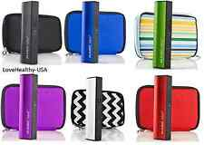Magic Juice 3000 mAh Portable Device, Tablet and Phone Charger with case