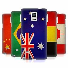 HEAD CASE DESIGNS VINTAGE FLAGS SET 1 CASE COVER FOR SAMSUNG GALAXY NOTE 4