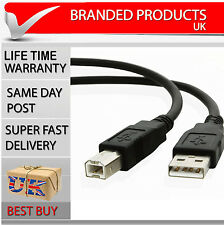 HP LaserJet Printer Data USB 3m metre Cable Lead High Speed Male to Female
