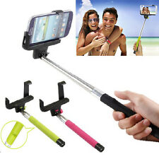 Selfie Extendable Handheld Monopod Stick Holder Bluetooth for cell mobile phone