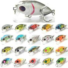 1 1/2 inch 1/8 oz Crankbait Fishing Lures Slow Sinking Tiny Crankbait C152