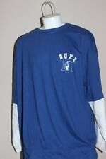 Duke Blue Devils NCAA Blue Long Sleeve Tee T-Shirt Mens Size 4XL 5XL