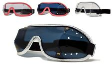 SAFTISPORTS SkyDiving Freefall Parachuting Goggles | Wide Band + Punched Vents